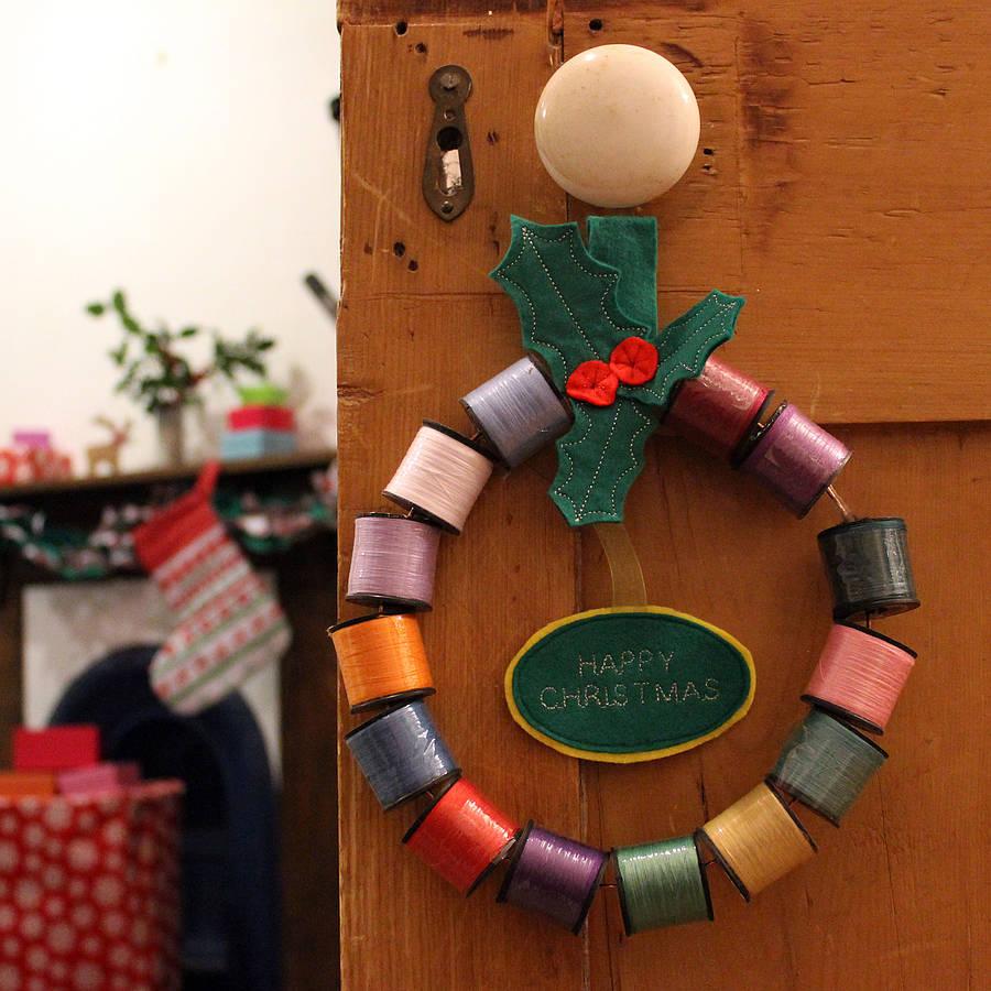 original_christmas-thread-reel-wreath