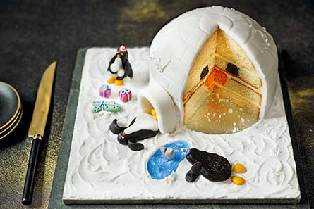 Penguin Igloo Cake M And S