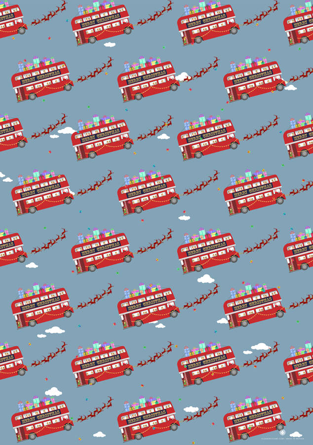 original_london-routemaster-christmas-wrapping-paper